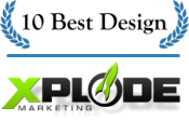 Best Design Firm: Xplode Marketing