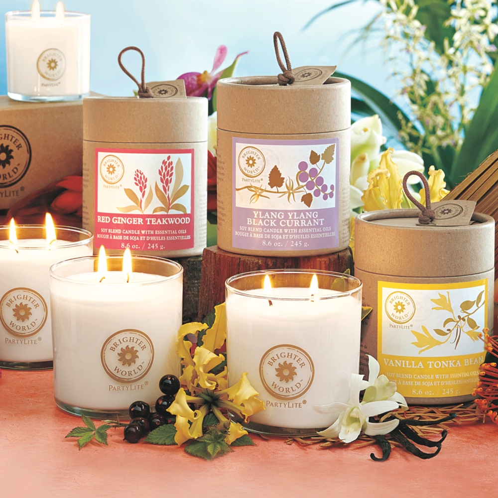 partylite introduces brighter world candles. Black Bedroom Furniture Sets. Home Design Ideas