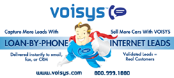 VOISYS is the market leader in Loan-By-Phone and Automotive Internet Leads