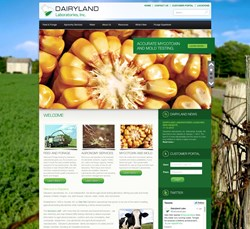 Dairyland Laboratories, Inc. new homepage.