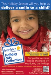 Inspirica 2013 Holiday Gift Collection campaign poster