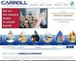 i5 web works Designs Responsive Website for Carroll Company