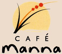 Cafe Manna logo Vegetarian restaurant in Brookfield, WI