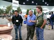 Eye of the Day owner Brent Freitas (right) at the Landscape Industry Show.