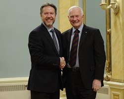 courtesy: MCpl Vincent Carbonneau, Rideau Hall