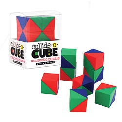 InventHelp Client Invention Collide O' Cubes Licensed by Ceaco (BrainWright.com)