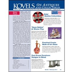 kovel, antiques, collectibles, beatles, snow, tiffany