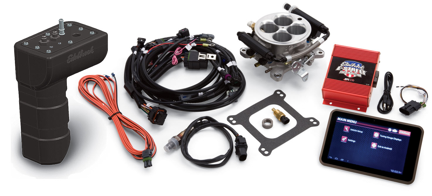 new at summit racing equipment  edelbrock e