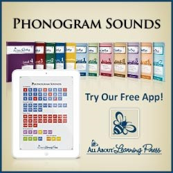 All About Reading, All About Spelling, phonogram sounds app