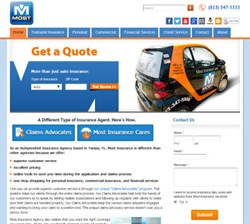 Most Insurance Responsive Website WordPress