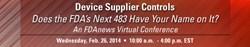 Device Supplier Controls VC