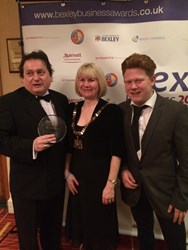 Marstan Press in Best Green Business 2014 Award at the Bexley Business Awards