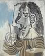 """Pablo Picasso's """"Le peintre"""""""