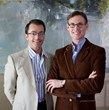 Frank Webb & Matthew White of White Webb Interior Design