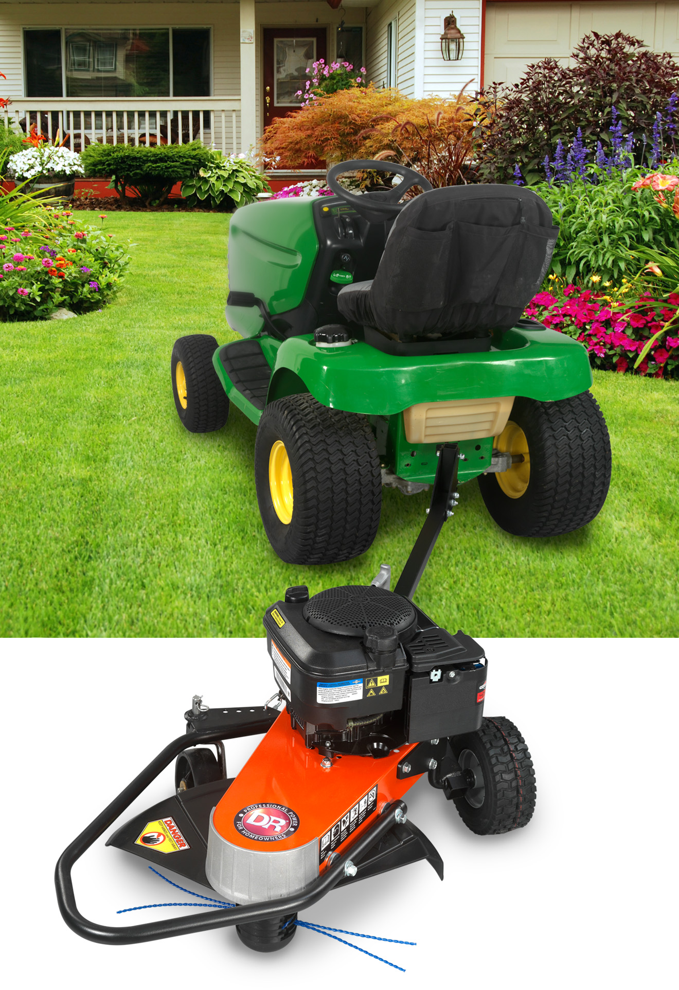 Dr 174 Power Equipment Extends Iconic Trimmer Mower Line To
