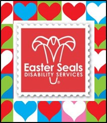 Easter Seals' Valentine's Day logo