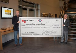 Micro Matic - Operation Homefront Charity Campaign