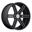 Truck Wheels by Black Rhino - The Letaba in Matte Black