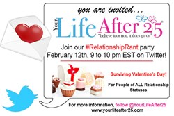 Surviving Valentine's Day Relationship Rant Twitter Party