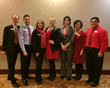 Stonebridge Companies' Hilton Seattle Hotel Goes Red for the American Heart Association's National Wear Red Day