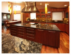 Cosmos Black Granite Countertops Installed By Rocky Mountain Stone