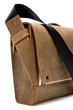 Rough Rider Leather Messenger—compression strap system