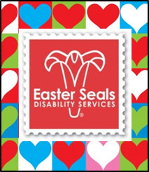 Easter Seals' Valentine's Day logo