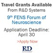 R&D Systems is Offering Travel Grants to Attend the Ninth FENS...