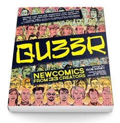 QU33R LGBT Comics Anthology from Northwest Press
