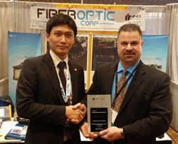 FORC Awarded 2013 Top USA Distributor from INNO Instrument