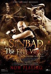 Sinbad The Fifth Voyage in Regal and AMC theaters, produced by Giant Flick Films