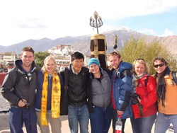 Lhasa contains many famous cultural relics and is a must-visit place in a life time.