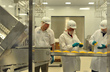Workers at Glanbia Foods' new state-of-the-art Cheese Innovation Center in Twin Falls, Idaho.  Photo credit:  Ed Glazar, Times-News