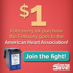 CompAndSave supports the American Heart Association