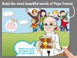 Pope Francis Comics - The most beautiful words of Pope Francis