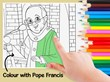 Pope Francis Comics - Play and colour with Pope Francis