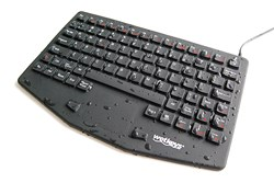 Professional Grade Medical Keyboard with Touchpad