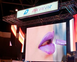 Dicolor unveils new M-Series LED display for rental application