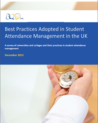 Survey: Best Practices Adopted in Student Attendance Management UK 2013