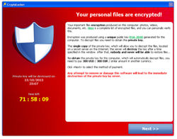 CryptoLocker locks down files for ransom