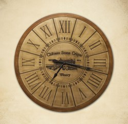 Customized Estate Round Wall Clock
