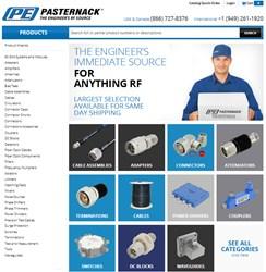 Pasternack's Redesigned 2014 Website