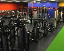FORE Performance's indoor golf-conditioning facility