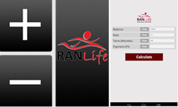 mortgage calculator, ranlife, mobile application, android app