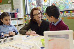Former Prime Minister of Australia @JuliaGillard to be champion for global education as new @GPforEducation Board Chair