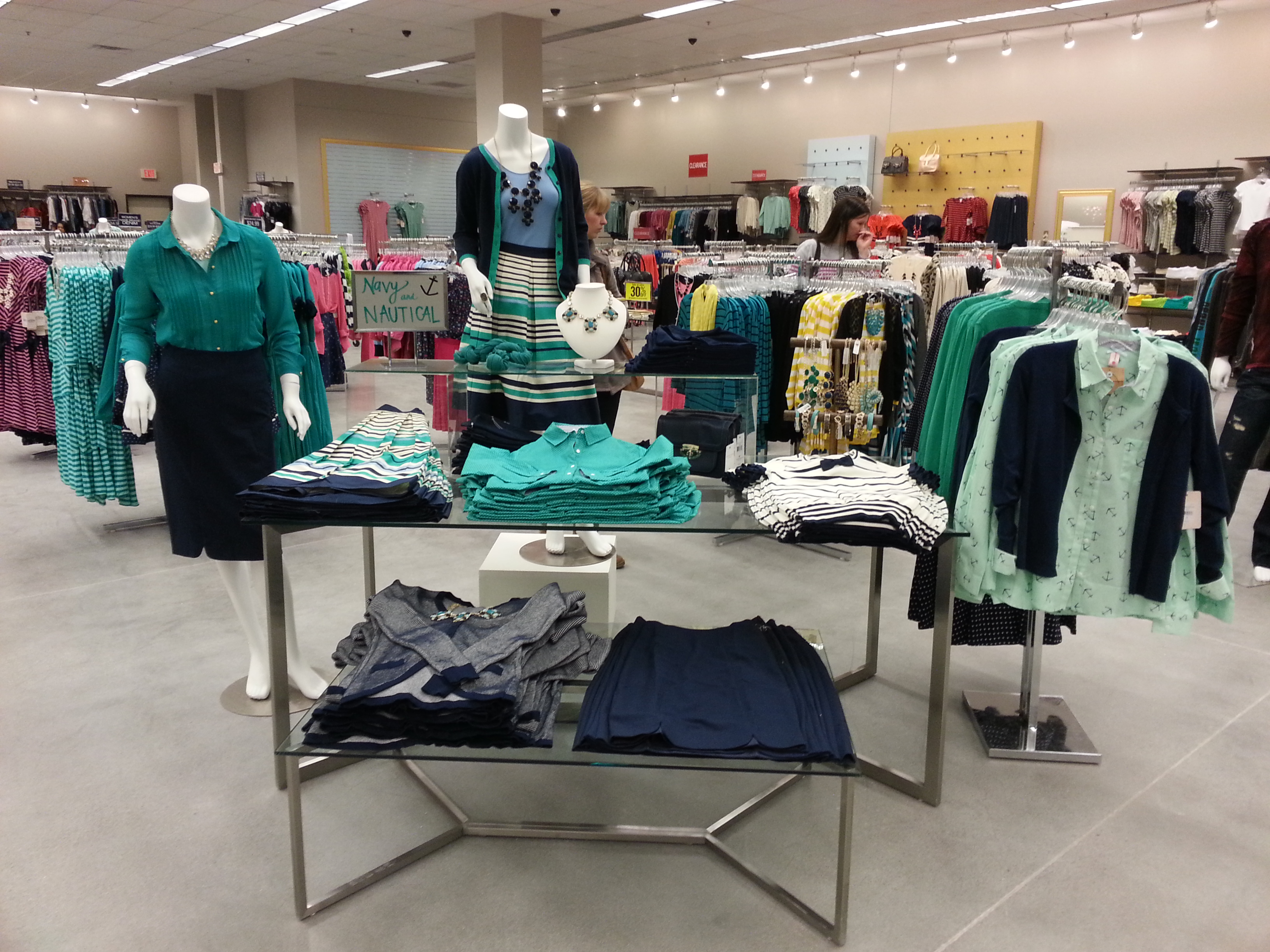 Clothing stores for females