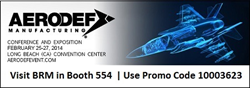 Visit BRM in Booth #554 | Use Promo Code 10003623