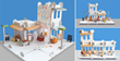 A fun construction set for girls and boys.