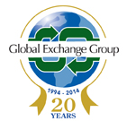 Global Exchange Group Anniversary Logo