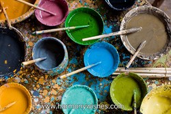 paint colors, HarmonyWishes, artist